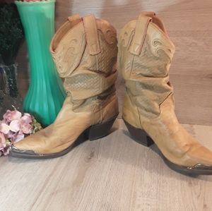 Miss Capezio leather Size 7 Cowgirl Boots